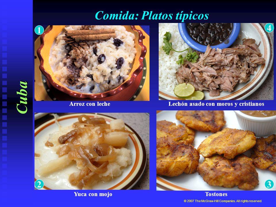 Comida: Platos típicos