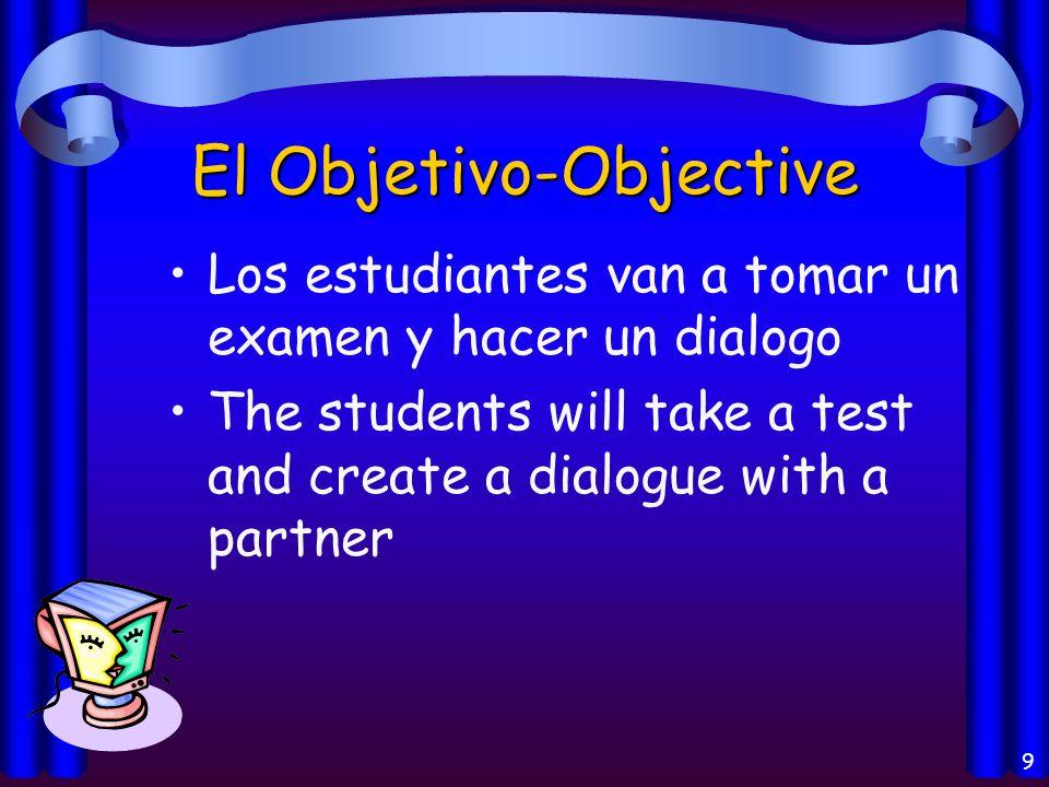El Objetivo-Objective