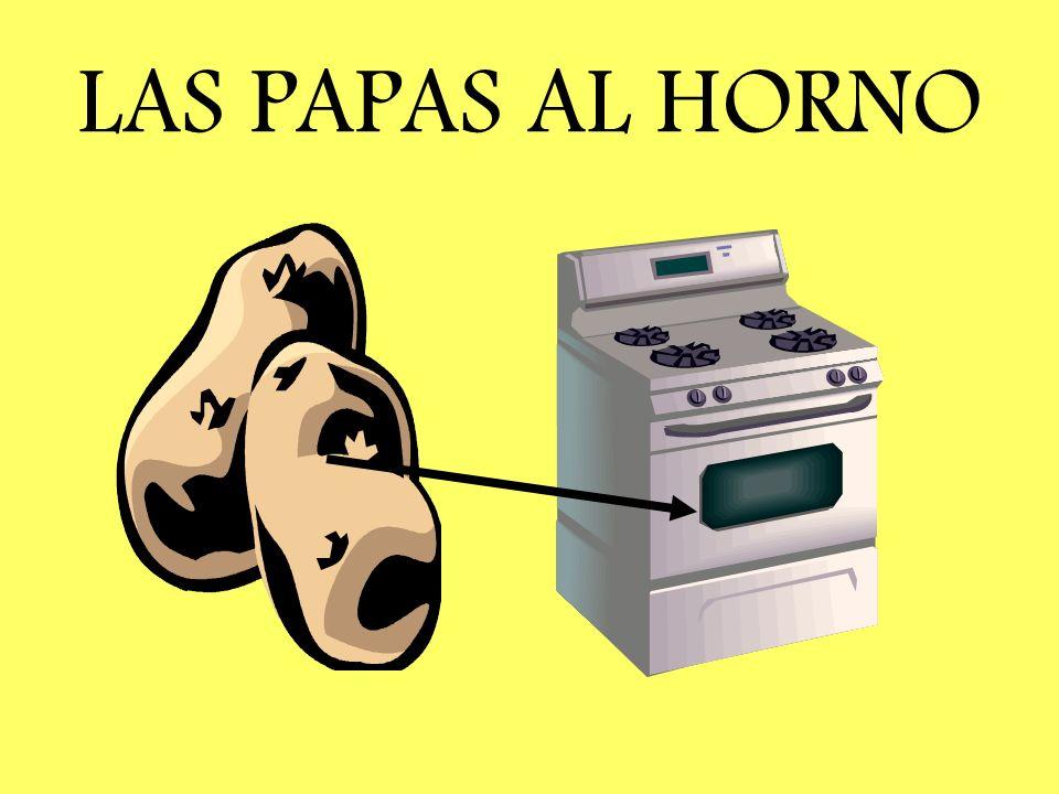 LAS PAPAS AL HORNO