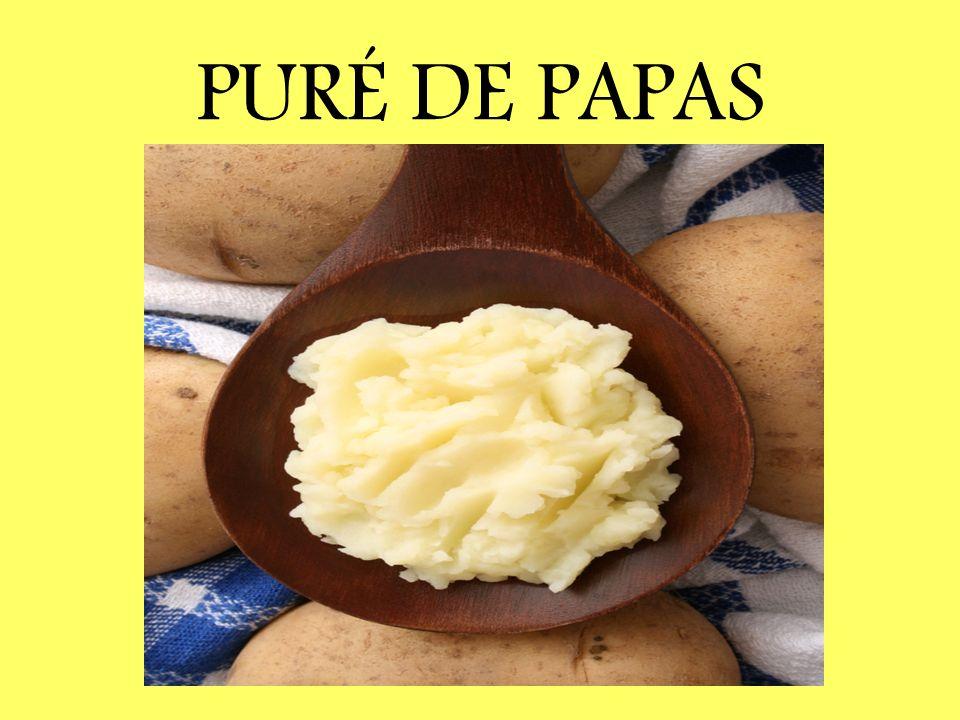 PURÉ DE PAPAS