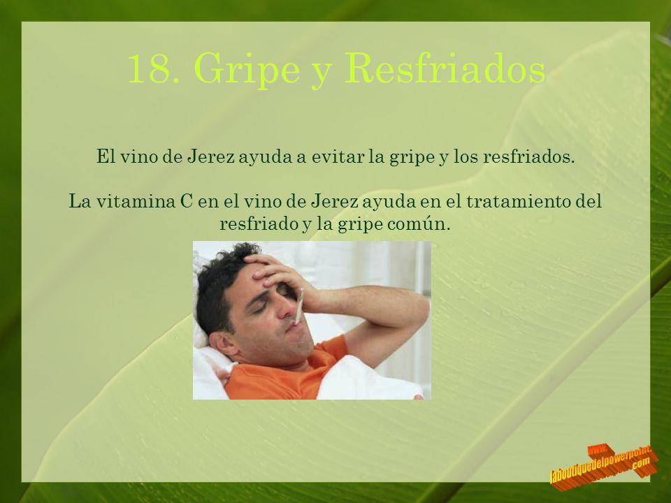 18. Gripe y Resfriados www. laboutiquedelpowerpoint. com