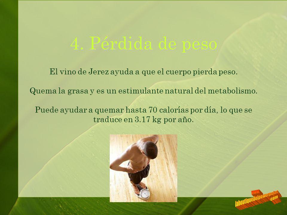 4. Pérdida de peso www. laboutiquedelpowerpoint. com