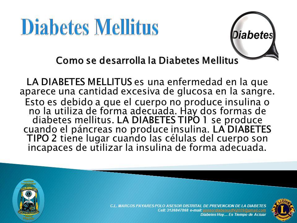 Diabetes Mellitus ASOCIACIÓN INTERNACIONAL DE CLUBES DE