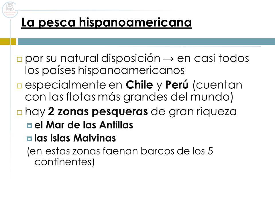 La pesca hispanoamericana