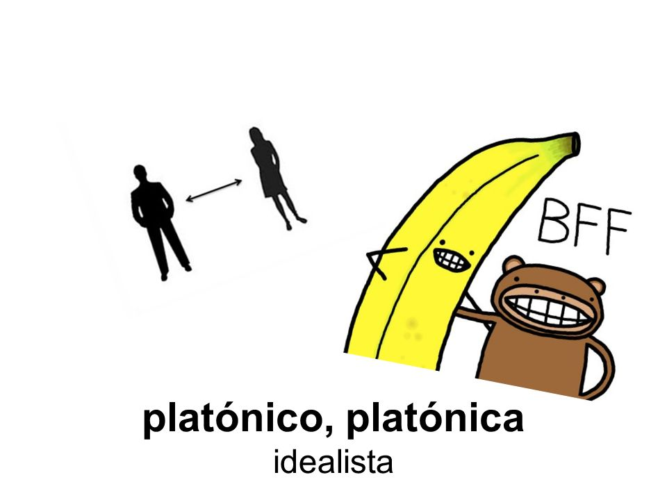 platónico, platónica idealista