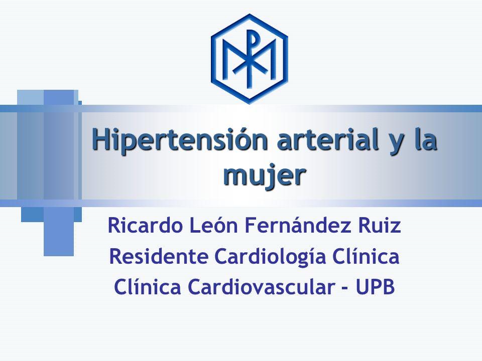 Hipertensión arterial y la mujer