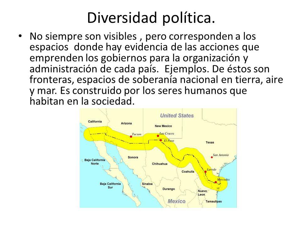 Diversidad política.