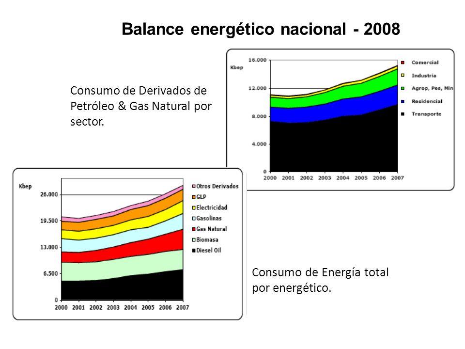 Balance energético nacional - 2008