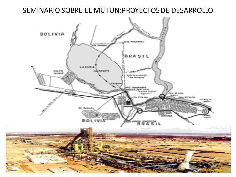 SEMINARIO SOBRE EL MUTUN:PROYECTOS DE DESARROLLO