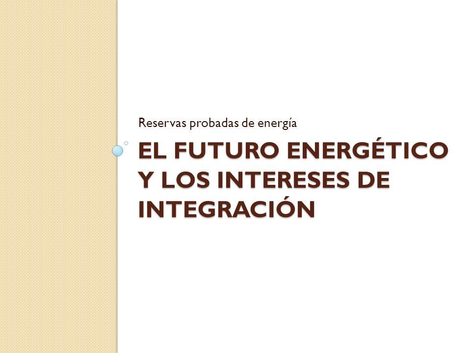 El futuro energético y los intereses de integración