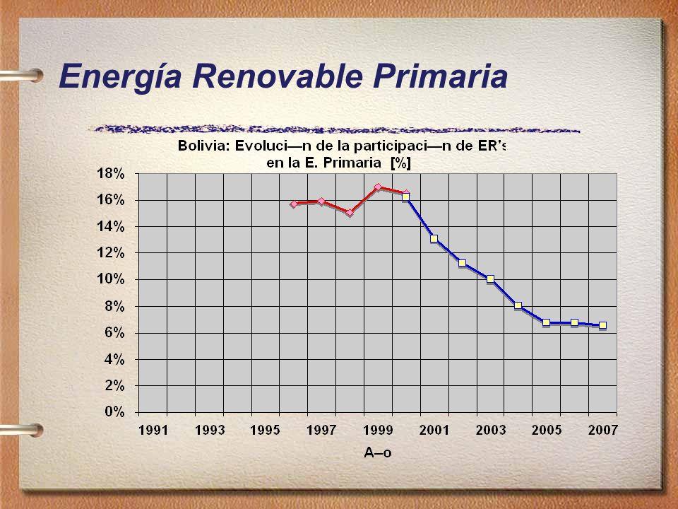 Energía Renovable Primaria