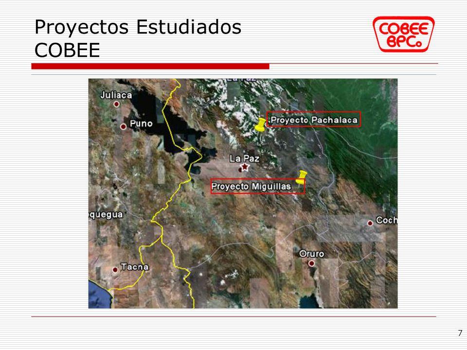 Proyectos Estudiados COBEE
