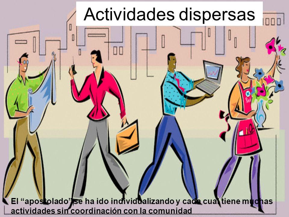Actividades dispersas