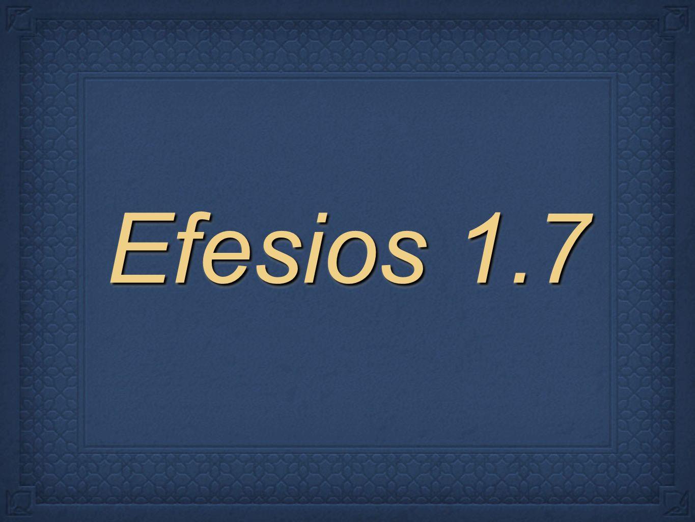 Efesios 1.7