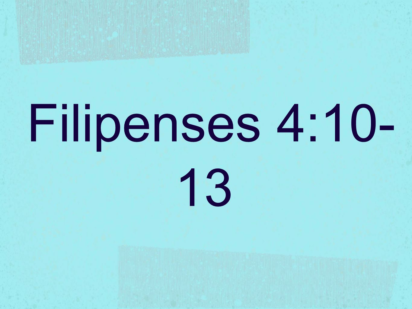 Filipenses 4:10-13