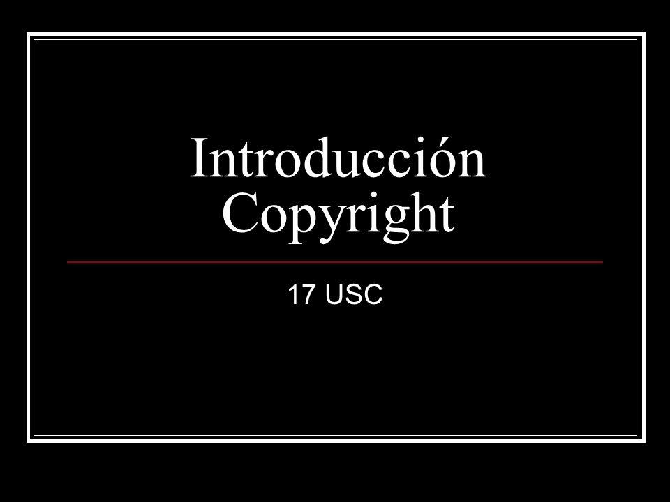 Introducción Copyright
