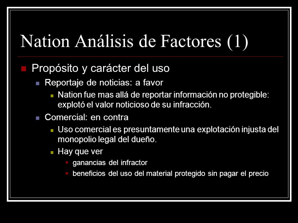 Nation Análisis de Factores (1)