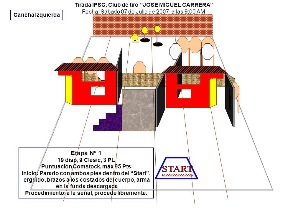 START Etapa Nº 1 Tirada IPSC, Club de tiro JOSE MIGUEL CARRERA