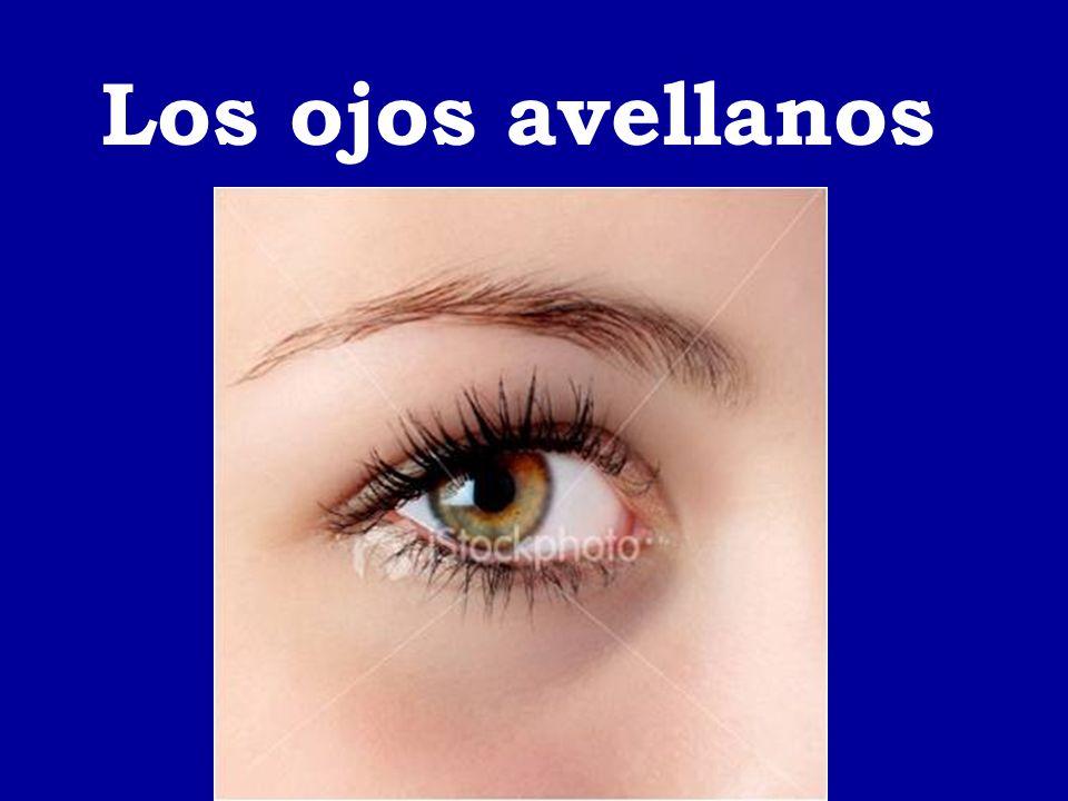 Los ojos avellanos