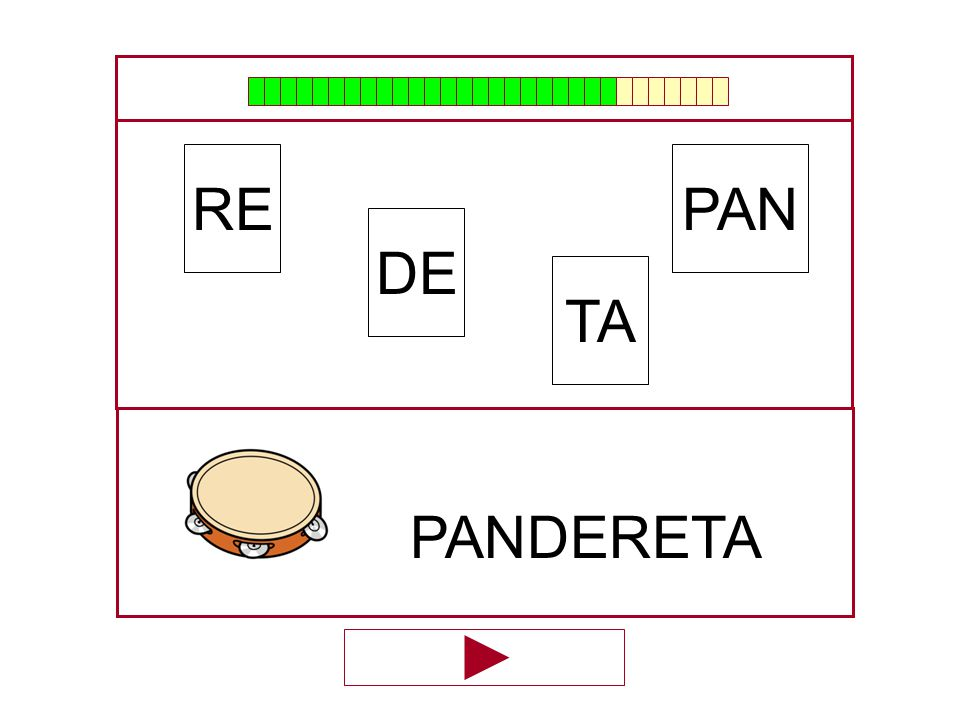 RE PAN DE TA PANDERETA …