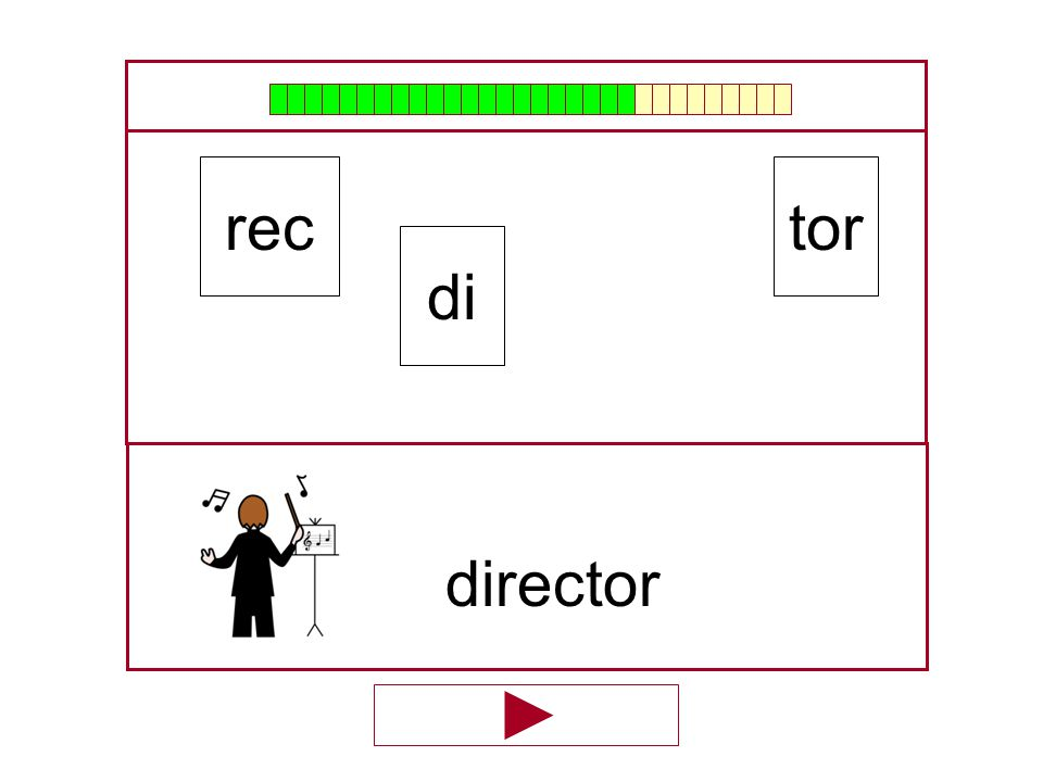 rec tor di director …