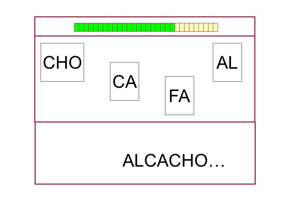 CHO AL CA FA ALCACHO… …