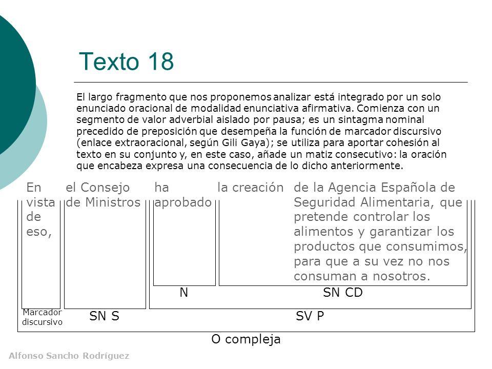 Texto 18 En vista de eso, el Consejo de Ministros ha aprobado