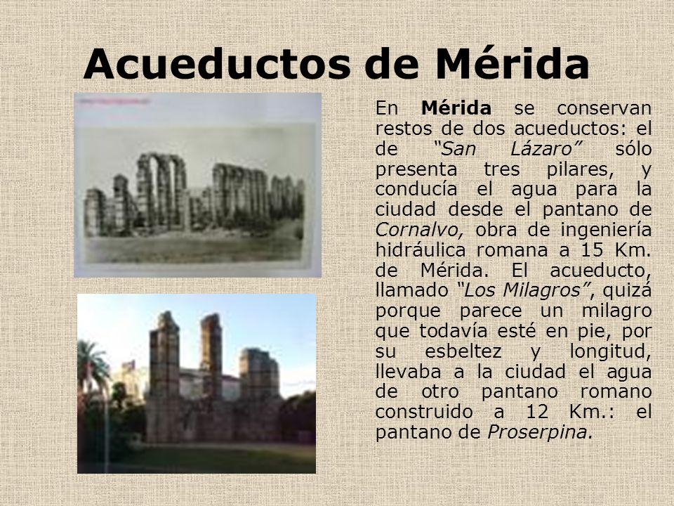 Acueductos de Mérida