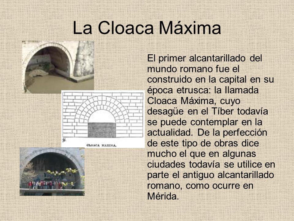 La Cloaca Máxima