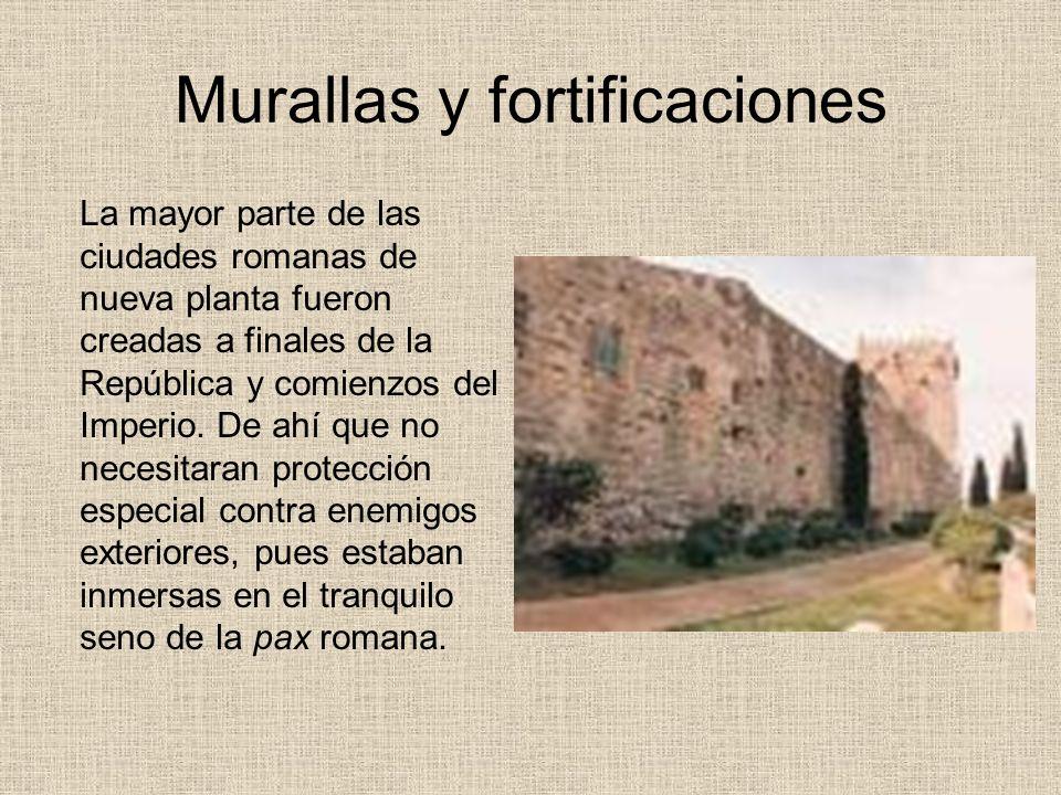 Murallas y fortificaciones