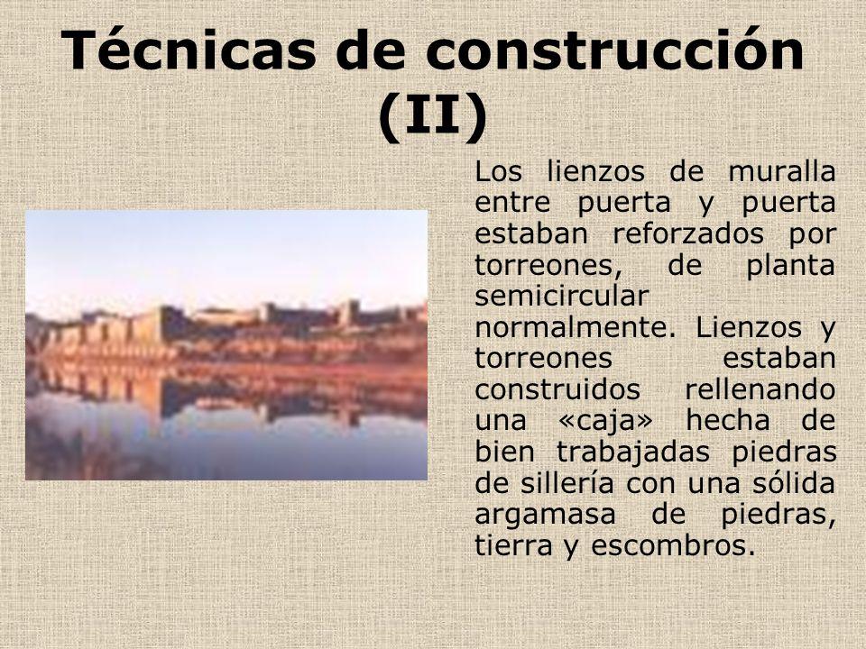Técnicas de construcción (II)