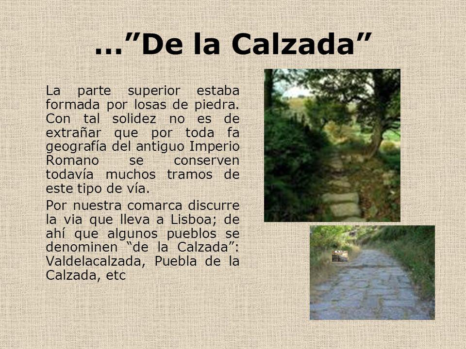 … De la Calzada