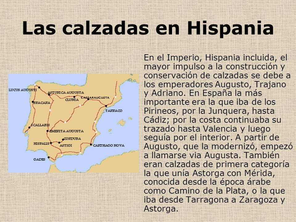 Las calzadas en Hispania