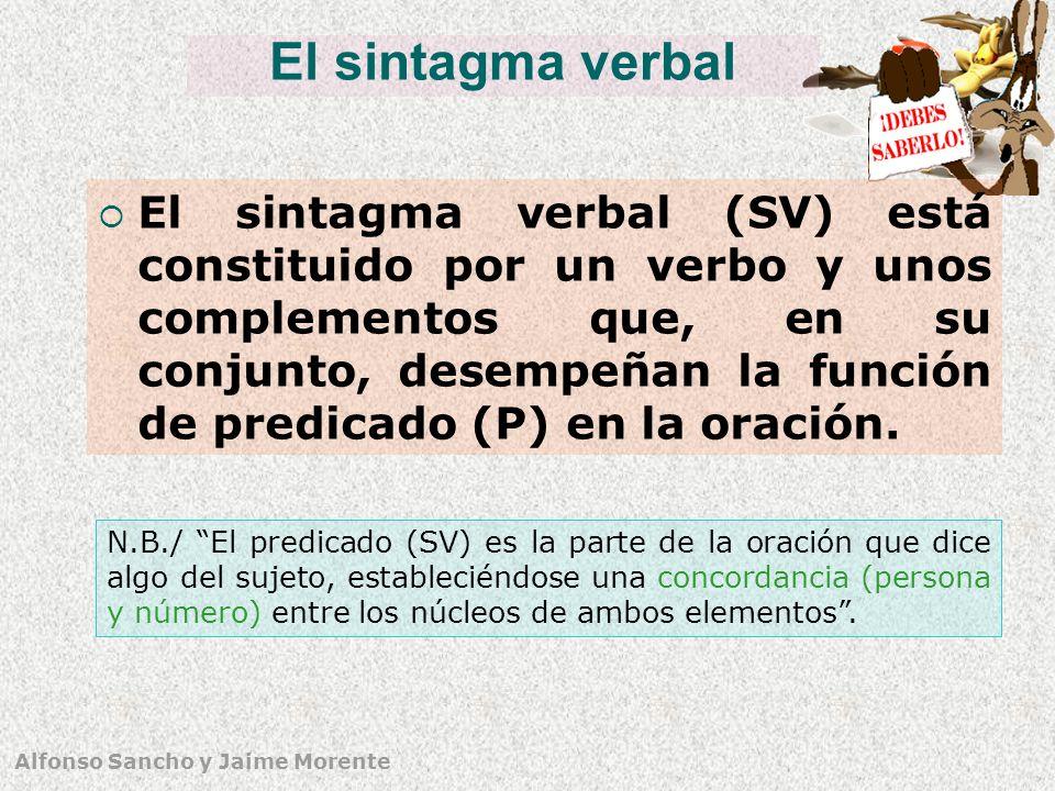 El sintagma verbal