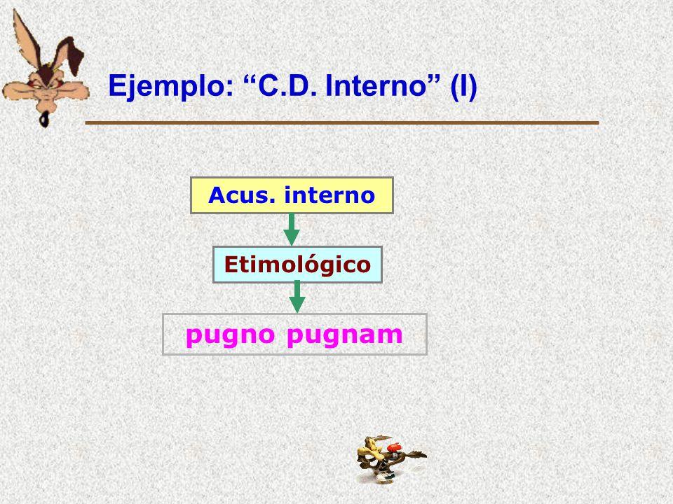 Ejemplo: C.D. Interno (I)