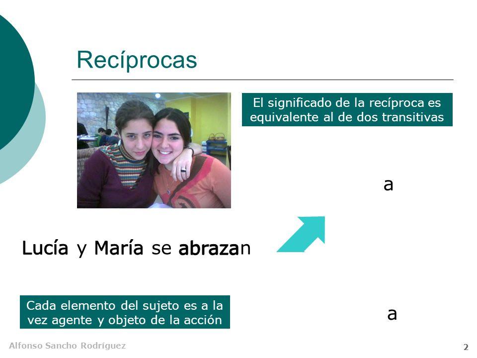 Recíprocas a Lucía Lucía Lucía y María se abrazan María María abraza
