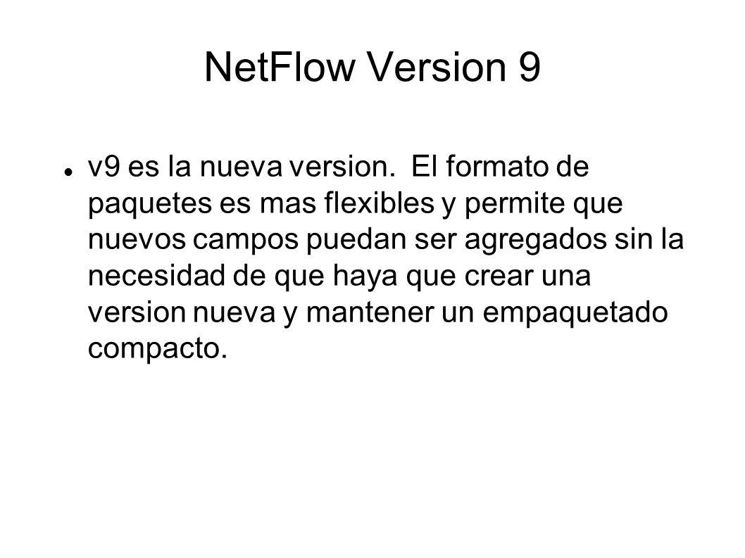 NetFlow Version 9