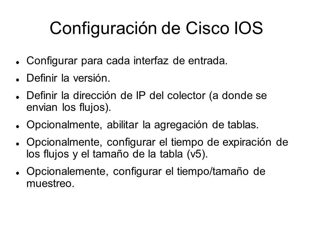 Configuración de Cisco IOS