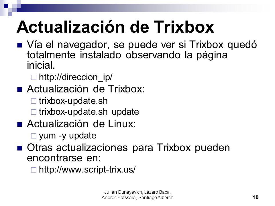 Actualización de Trixbox