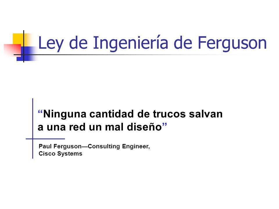 Ley de Ingeniería de Ferguson
