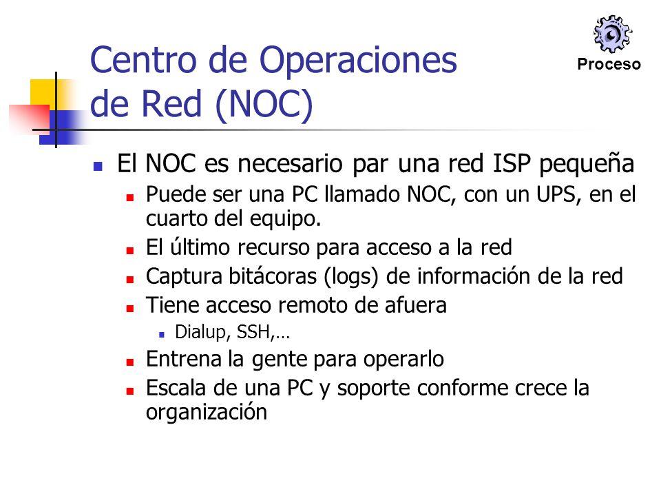 Centro de Operaciones de Red (NOC)