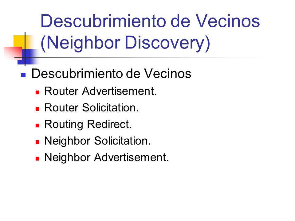 Descubrimiento de Vecinos (Neighbor Discovery)