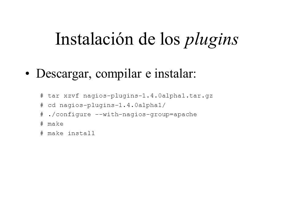 Instalación de los plugins