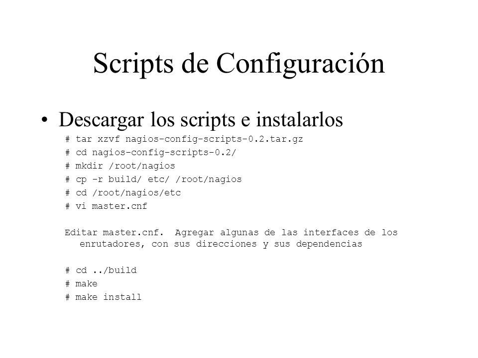 Scripts de Configuración