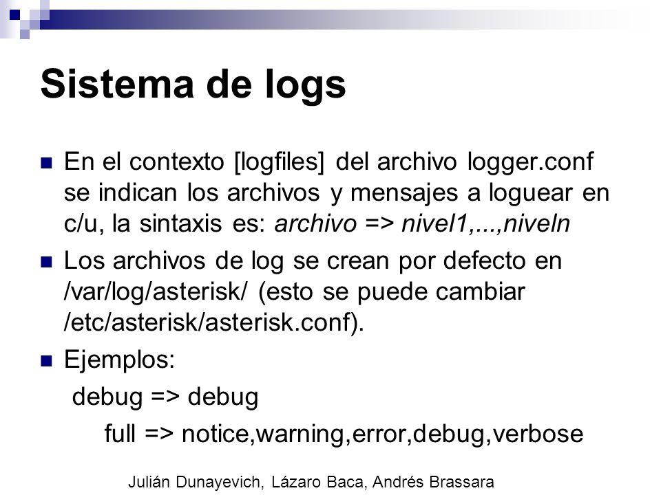 Sistema de logs