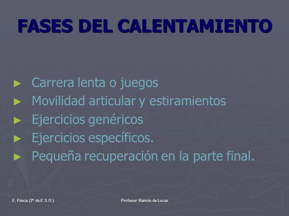 FASES DEL CALENTAMIENTO