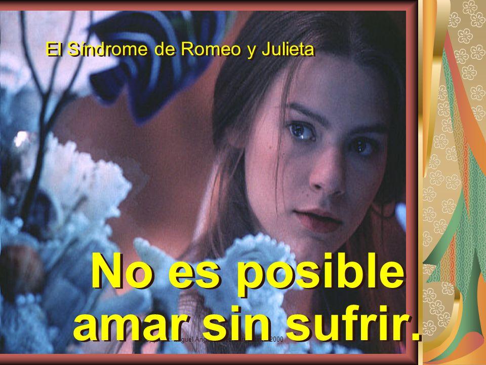 El Síndrome de Romeo y Julieta
