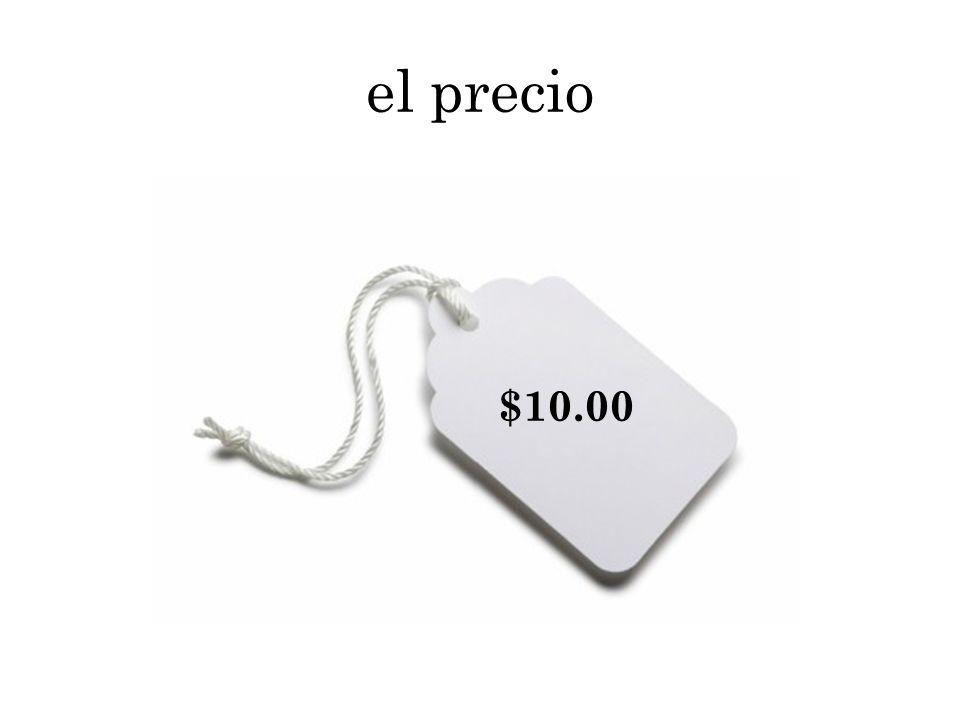 el precio $10.00