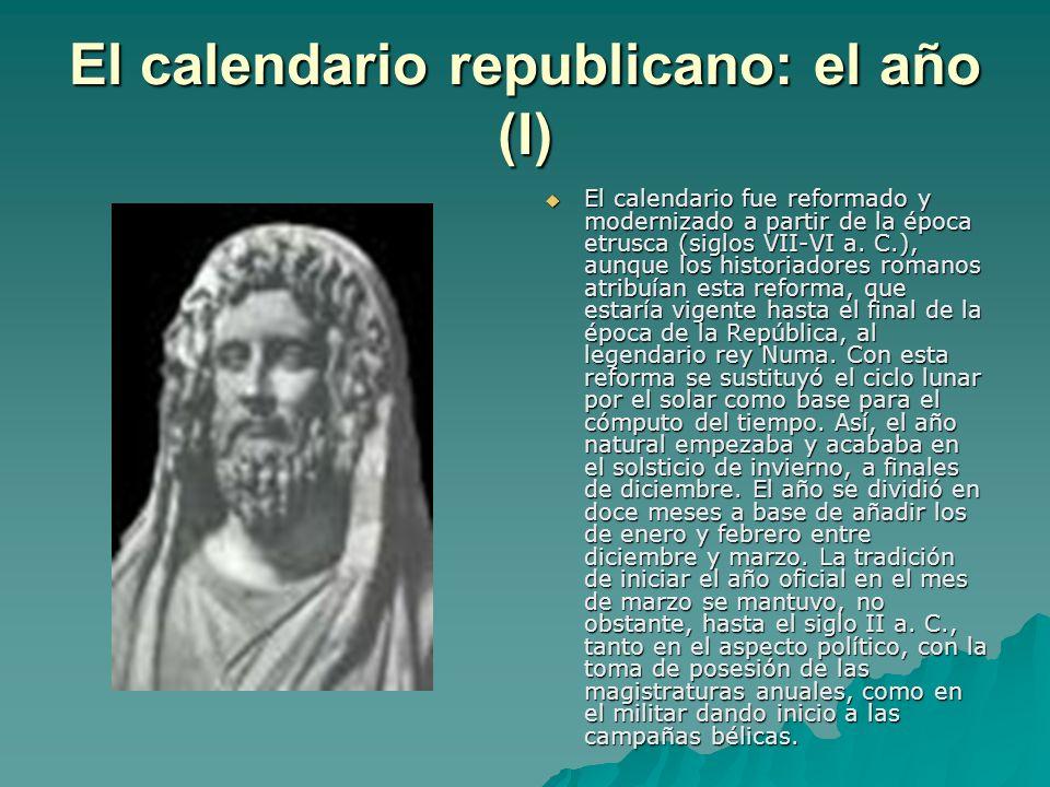 El calendario republicano: el año (I)