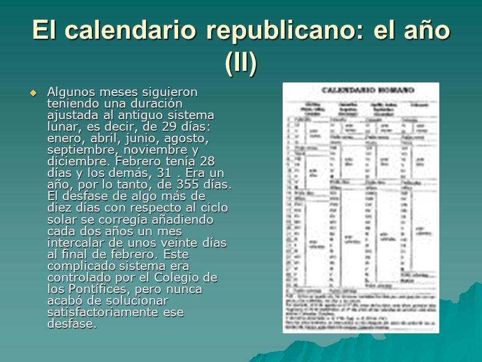 El calendario republicano: el año (II)